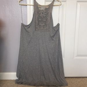 Dresses & Skirts - Gray boutique dress